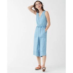 Splendid Chambray XL Jumpsuit Culottes ~ NWT